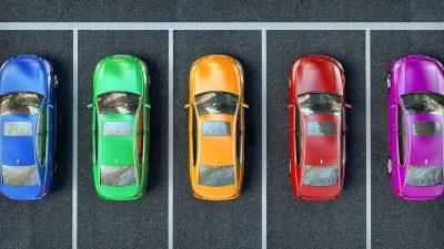 Colori auto più vendute