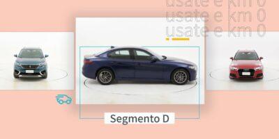 Le migliori auto del segmento D