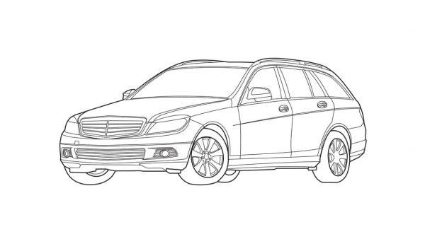 Storia del design di Mercedes Classe C