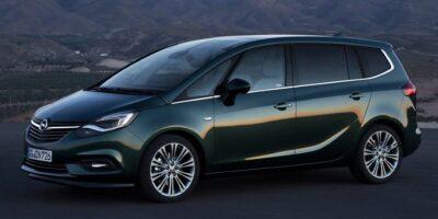 Opel Zafira prezzo e dimensioni