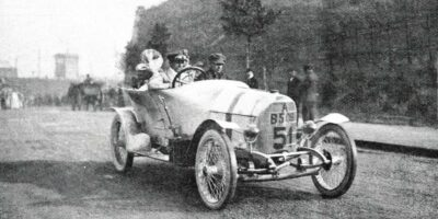 Ferdinand Porsche vainqueur de la Prinz-Heinrich-Fahrt