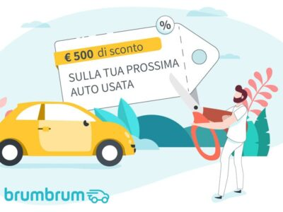 Sconto 500 euro auto usata