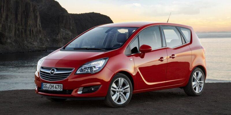 Opel Meriva dimensioni e prezzo