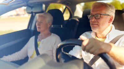 guidare con le lenti