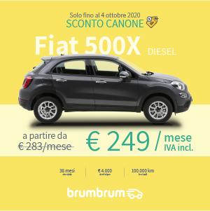 Fiat 500X a noleggio