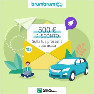 Promo 500 euro autunno brumbrum