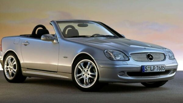 Mercedes Benz SLK Final Edition 2003