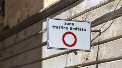 Multa per zona a traffico limitato