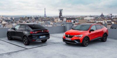 Renault Arkana motore e allestimenti