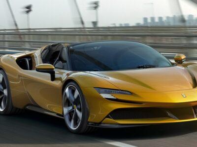 Ferrari SF 90 Spider motore e prestazioni
