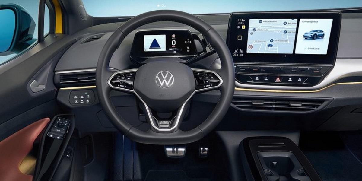 Volkswagen ID.4 interni e design