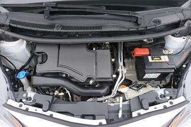Vano motore di Toyota Aygo
