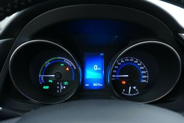 Interni di Toyota Auris