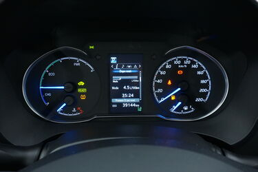 Interni di Toyota Yaris