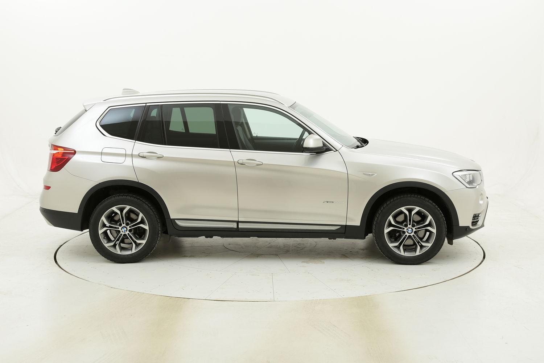 BMW X3 20d xDrive xLine Aut. usata del 2017 con 94.387 km