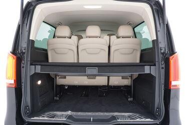 Bagagliaio di Mercedes Classe V
