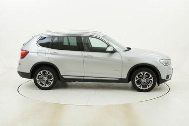 BMW X3 20d xDrive xLine Aut. usata del 2017 con 106.037 km