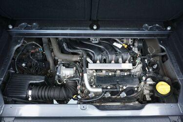Vano motore di Renault Twingo