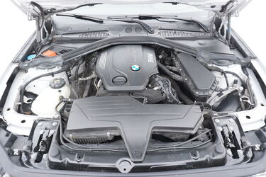 Vano motore di BMW Serie 1