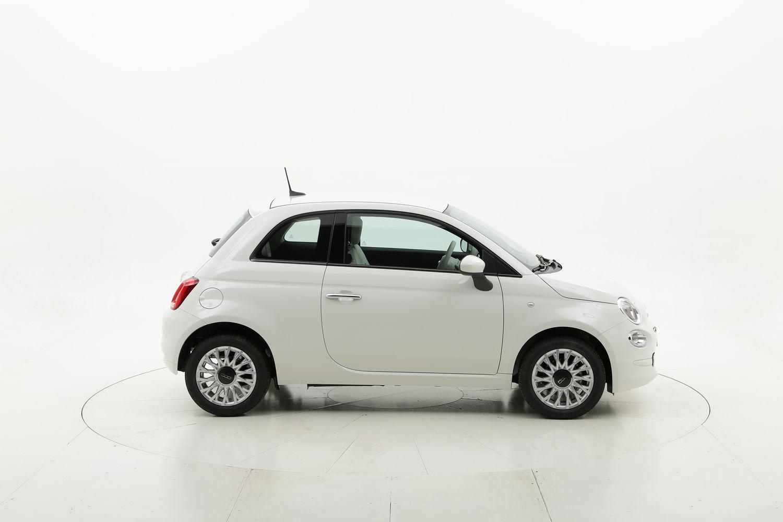 Fiat 500 Lounge Serie 7 NUOVO MODELLO km 0 benzina bianca