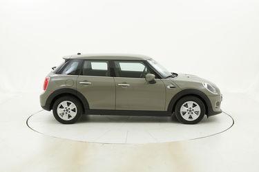 Mini 5 porte Cooper km 0 benzina beige