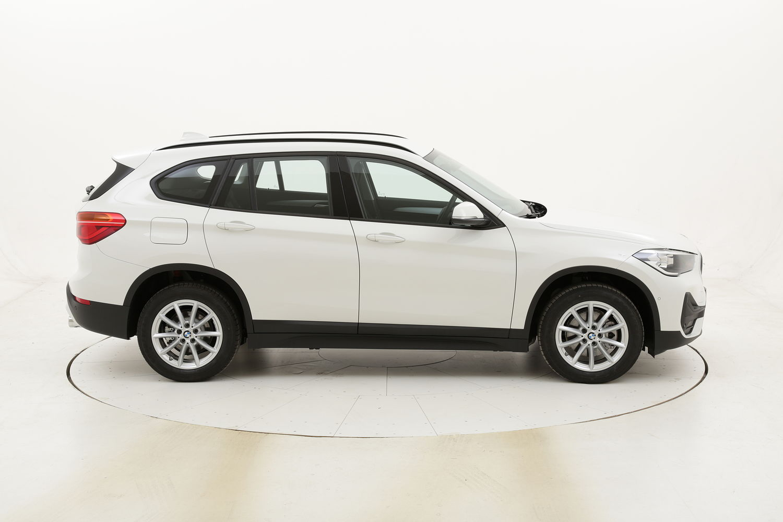BMW X1 18d sDrive km 0 diesel bianca
