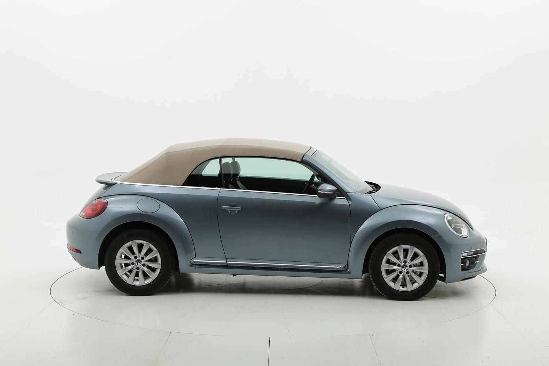 Volkswagen Maggiolino Cabrio Design km 0 diesel blu