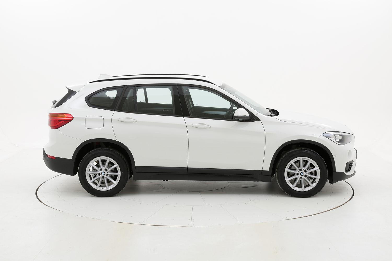 BMW X1 Advantage SDrive 18i  km 0 benzina bianca