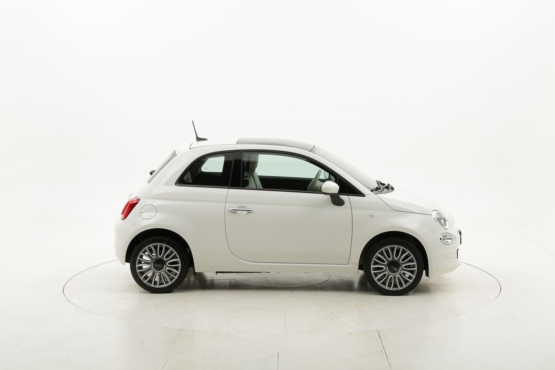 Fiat 500 Lounge km 0 benzina bianca