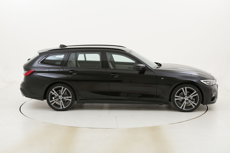 BMW Serie 3 320d xDrive 48V Touring Msport aut. km 0 ibrido diesel nera