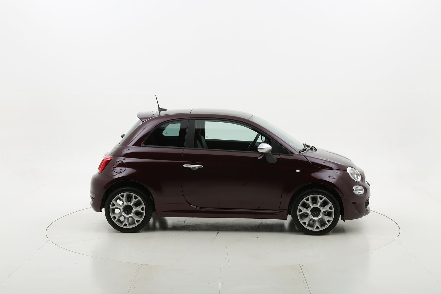 Fiat 500 Rockstar My2020 Full Optional km 0 benzina rossa scura