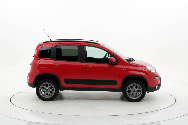 Fiat Panda 4x4 km 0 diesel rossa
