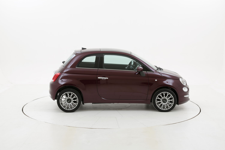 Fiat 500 Star My2020 Cerchi 16 km 0 benzina rossa scura