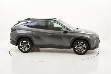 Hyundai Tucson Excellence km 0 ibrido benzina grigia
