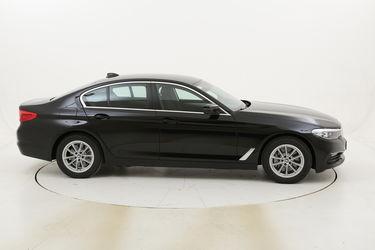 BMW Serie 5 530e Business aut. km 0 ibrido benzina nera