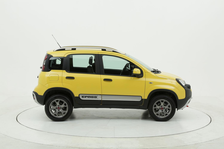 Fiat Panda Cross km 0 diesel gialla