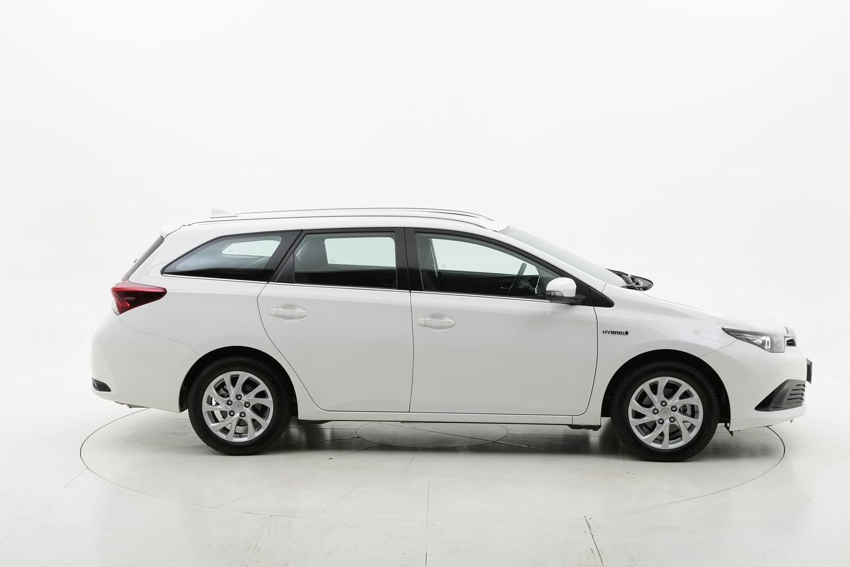 Toyota Auris TS hybrid Business my18 km 0 ibrido benzina bianca