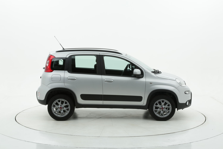 Fiat Panda 4x4 km 0 benzina argento