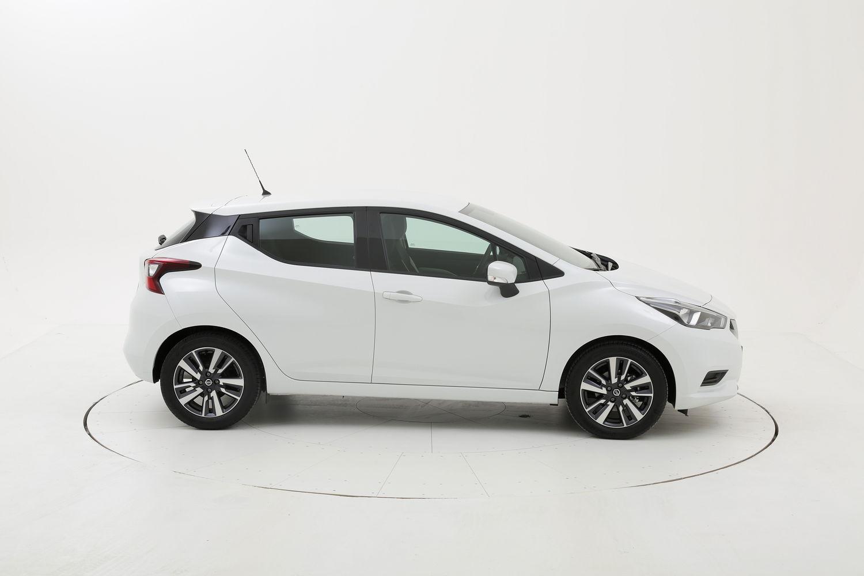Nissan Micra acenta km 0 diesel bianca