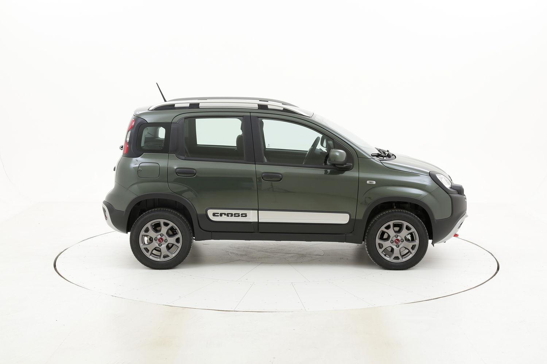 Fiat Panda Cross 4x4 5 posti km 0 benzina verde scura