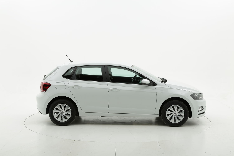 Volkswagen Polo benzina bianca a noleggio a lungo termine