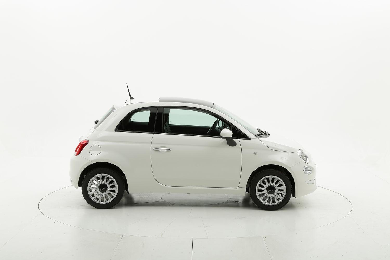 Fiat 500 benzina bianca a noleggio a lungo termine