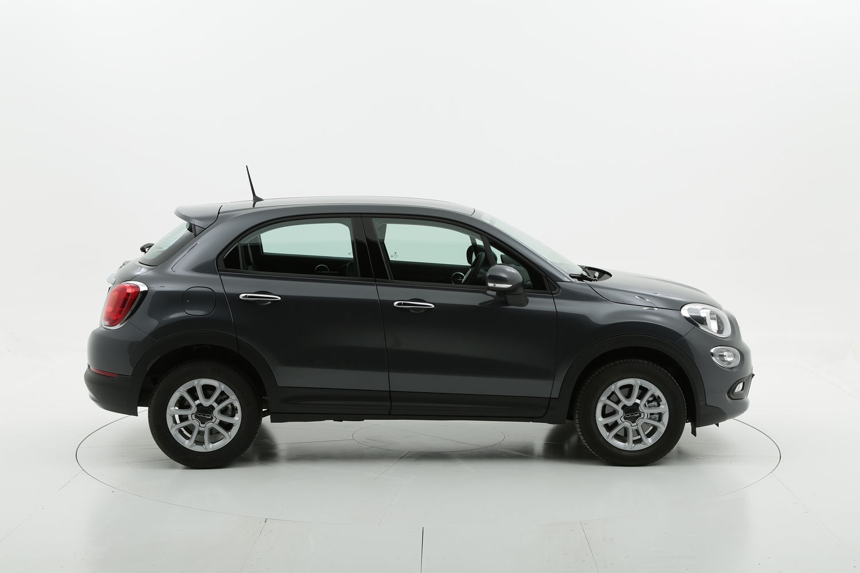 Fiat 500X diesel grigia a noleggio a lungo termine