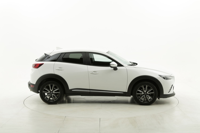 Mazda CX-3 benzina bianca a noleggio a lungo termine