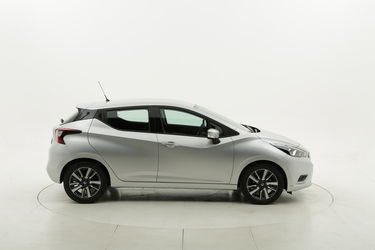 Nissan Micra Acenta X-Tronic benzina argento a noleggio a lungo termine