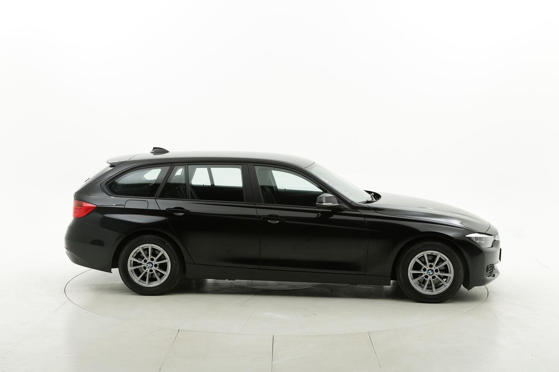 BMW Serie 3 diesel nera a noleggio a lungo termine
