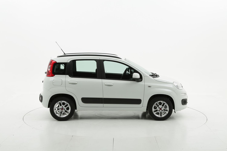 Fiat Panda ibrido benzina bianca a noleggio a lungo termine