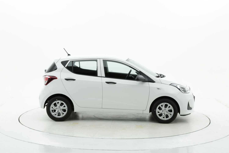 Hyundai I10 benzina bianca a noleggio a lungo termine