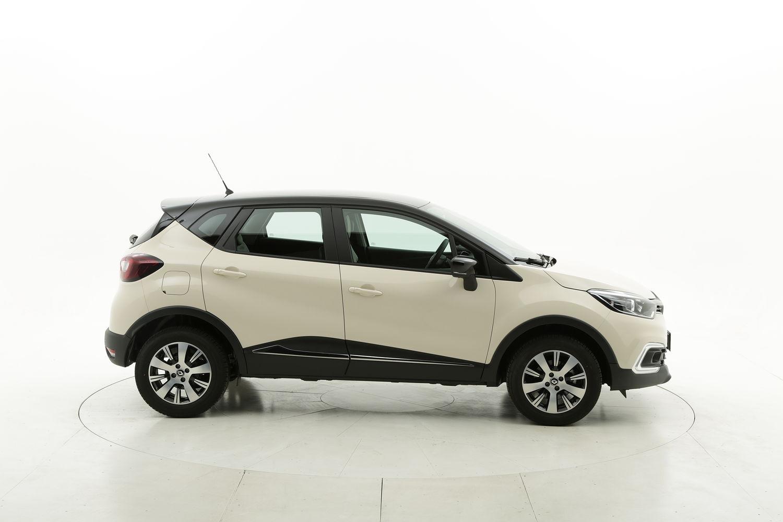 Renault Captur diesel bianca a noleggio a lungo termine