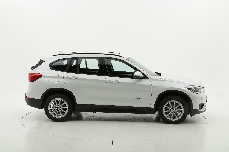 BMW X1 diesel bianca a noleggio a lungo termine